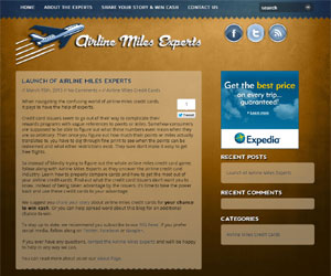Airline Miles Credit Card Blog