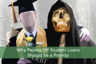 Why Paying Off Student Loans Should be a Priority - Modest Money