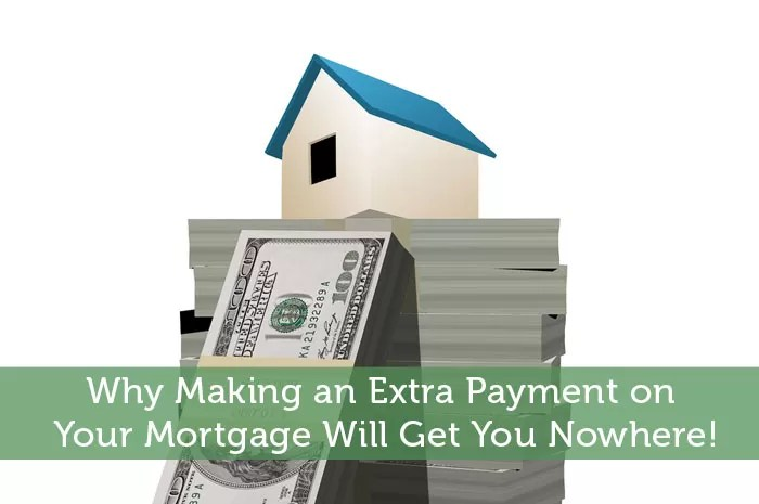 Why Making an Extra Payment on Your Mortgage Will Get You Nowhere