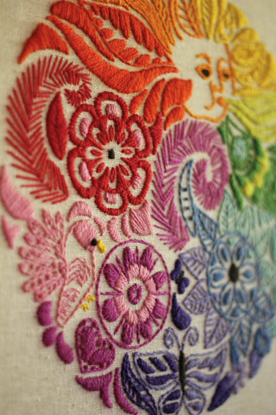 modflowers: embroidery inspiration