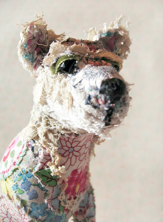 modflowers: Kipper - textile menagerie by Bryony Rose Jennings