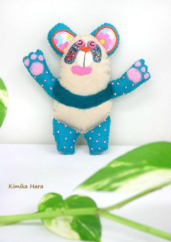 modflowers: kimika hara - panda