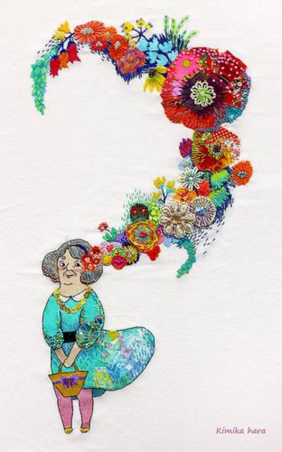 modflowers: kimika hara - she was a girl