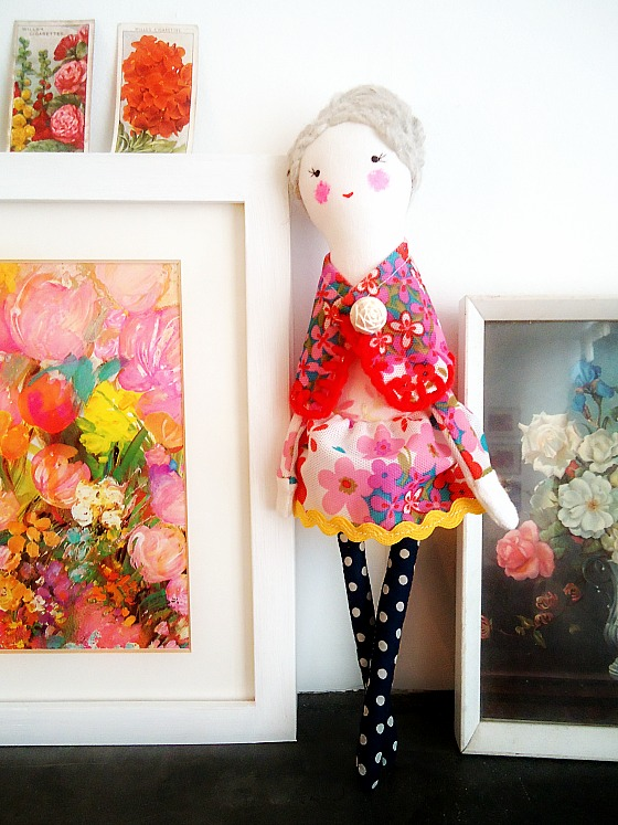 modflowers: Julie doll