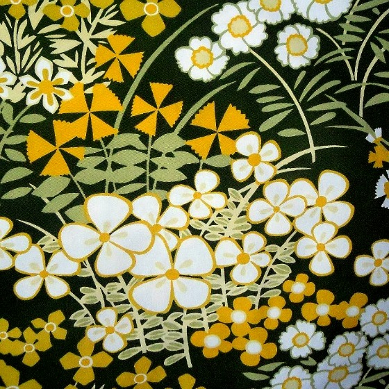 modflowers: Cranbrook vintage fabric by Osman