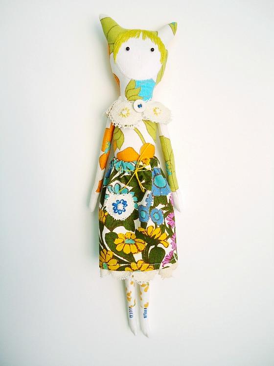 cat doll commission - 3 560