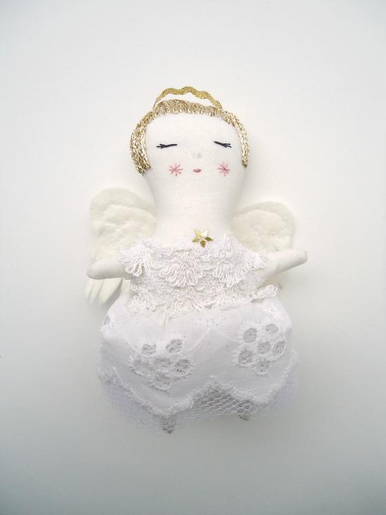 modflowers: angel fairy doll