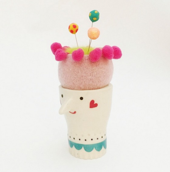 modflowers: pincushion by Deborah Fisher