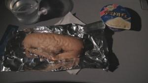 Sandwich served aboard Unites 777-200