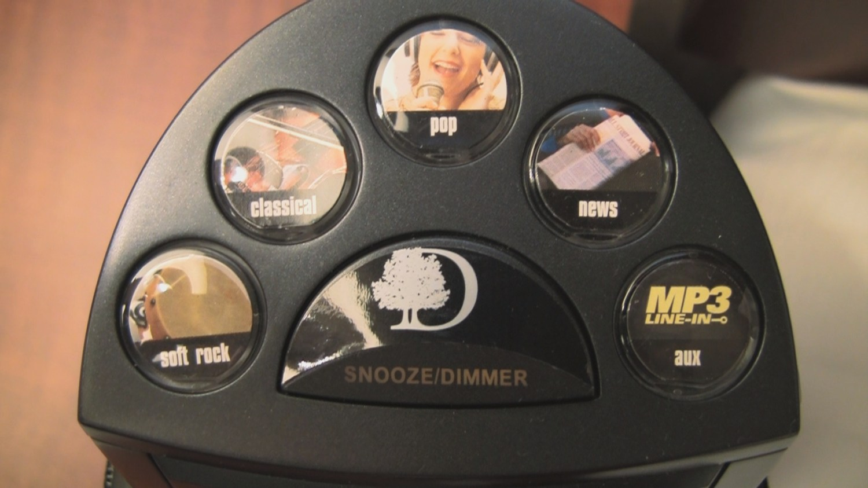 Doubletree clock radio