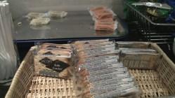 Snacks at Servisair Lounge LHR