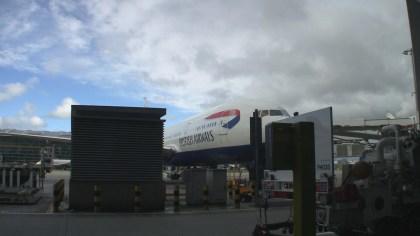 British Airways First Class 777