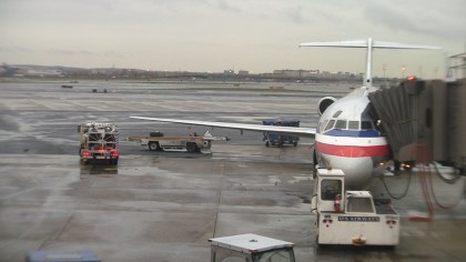 American Airlines First Class MD80
