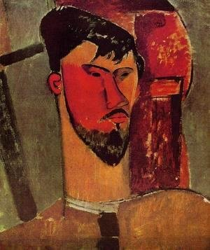 Amedeo Modigliani - The Complete Works - Portrait of Frank Burty Haviland - modigliani ...