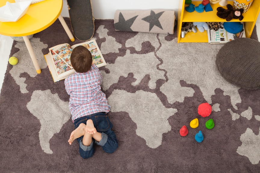 Eco-Friendly Rugs, Baby Loungers and Playful Sippy Cups for Spring