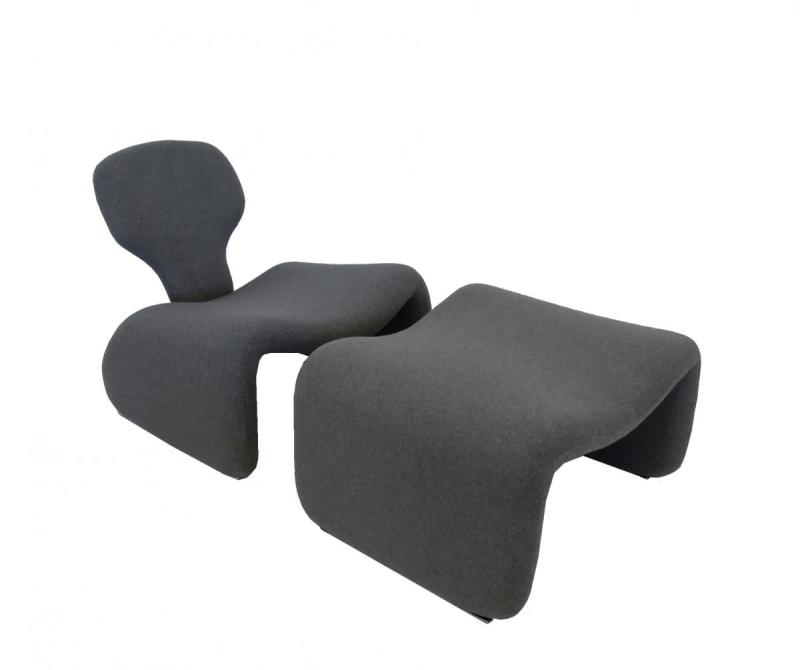 Large Of Modern Chairs And Ottomans
