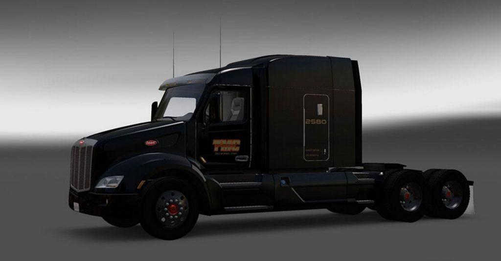 Peterbilt 579 TMC Skin Mod - American Truck Simulator mod ATS mod - tmc trucking pay