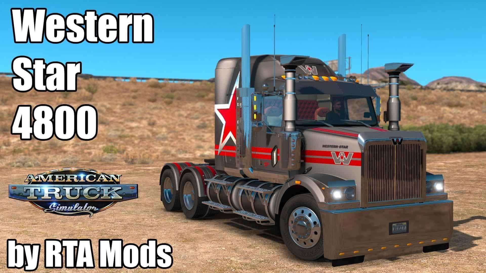 Nn 3d Wallpaper Western Star 4800 Truck By Rta Mods American Truck
