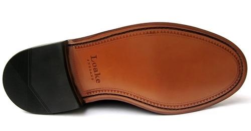 Loake Brighton Black Tassel Loafers Mod Shoes