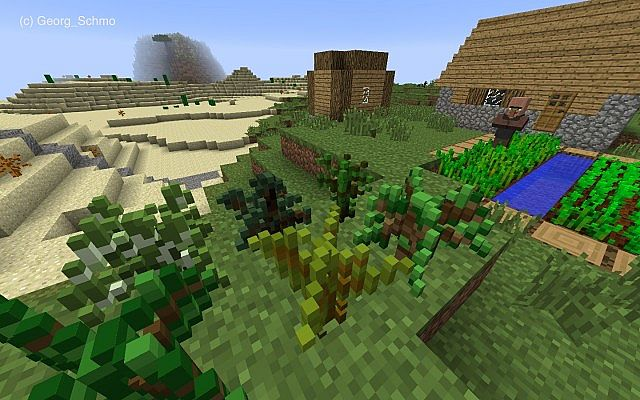 3D Nature Resource Pack 189 - Minecraft mod download