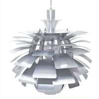 """PH Style Artichoke Chandelier Lamp 19"""""""