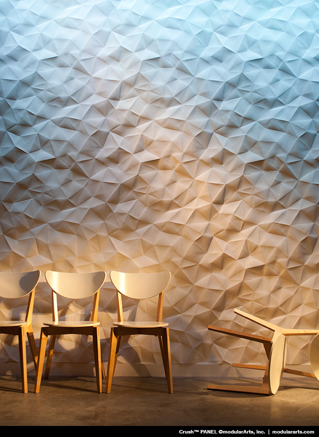 3d Geometric Wallpaper For Walls Interlockingrock 174 Panels For Large Scale Walls Modulararts 174