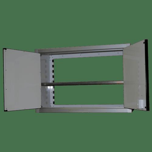 Aluminum Wall Storage Cabinet 181536 Moduline Cabinets