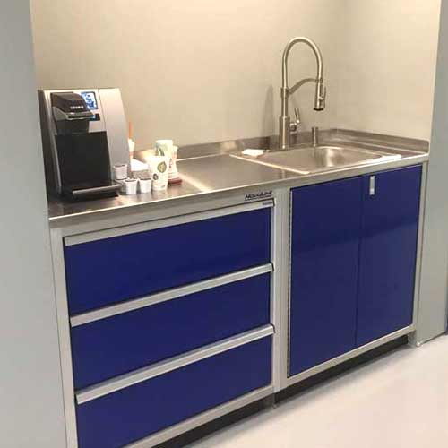 Stainless Steel Sinks For Garage Shop Cabinets Moduline