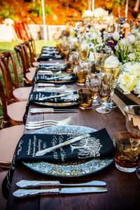 An Chic Outdoor Wedding from Arrowood Photography - MODwedding