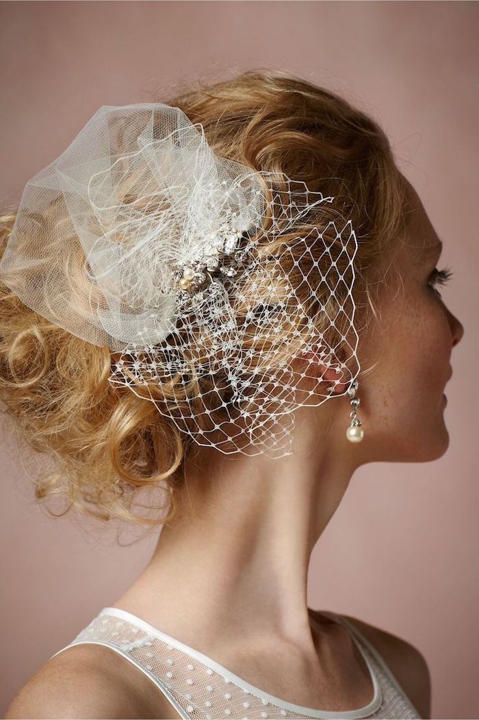 Bridal Hair Accessories from BHLDN