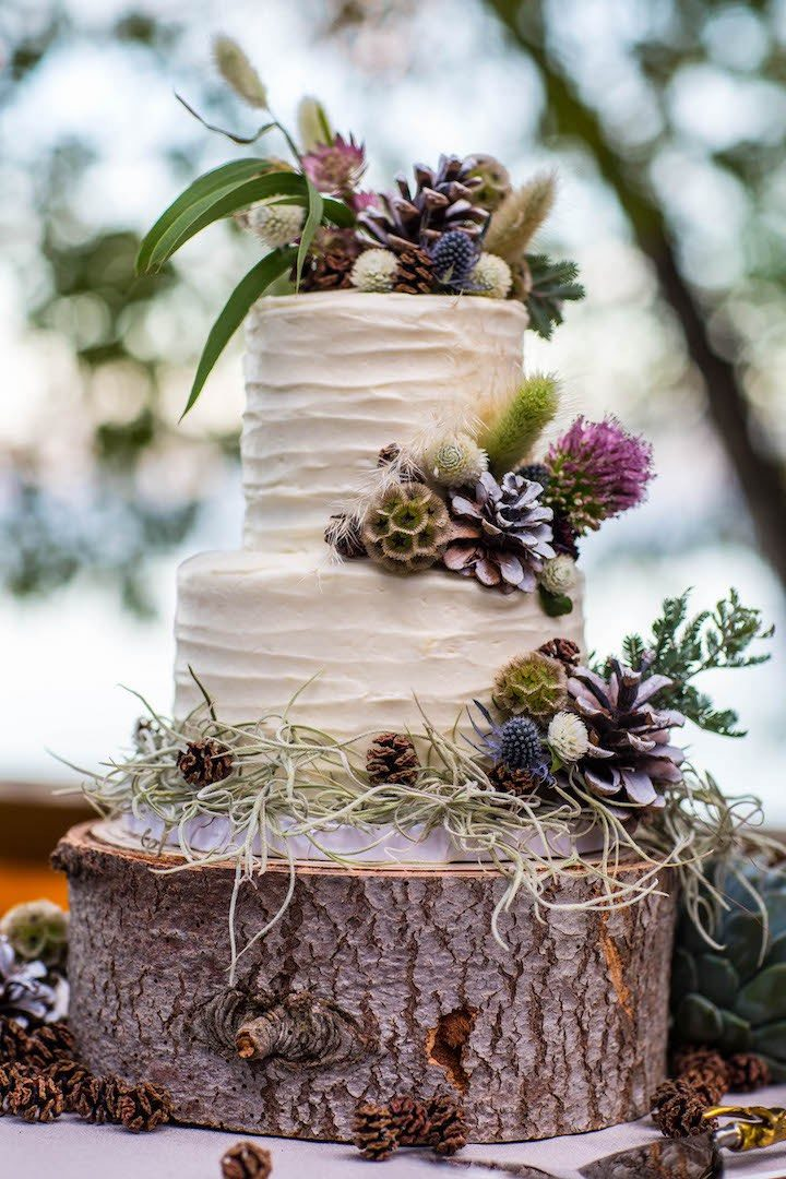 Earthy Elegance In Lake Tahoe Wedding Modwedding