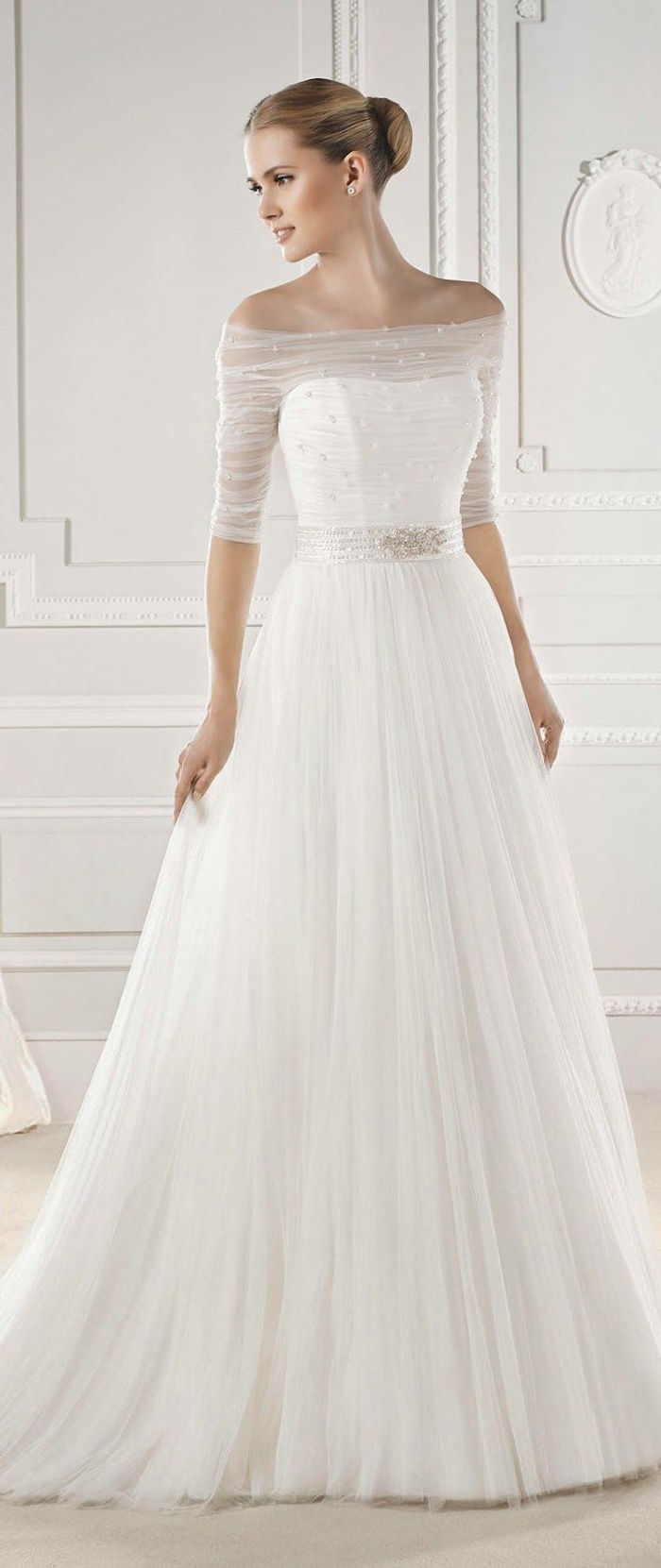 simple wedding dresses with delightful elegance plain wedding dresses simple wedding dresses 22 km