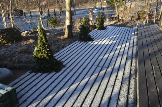 2013年の初雪