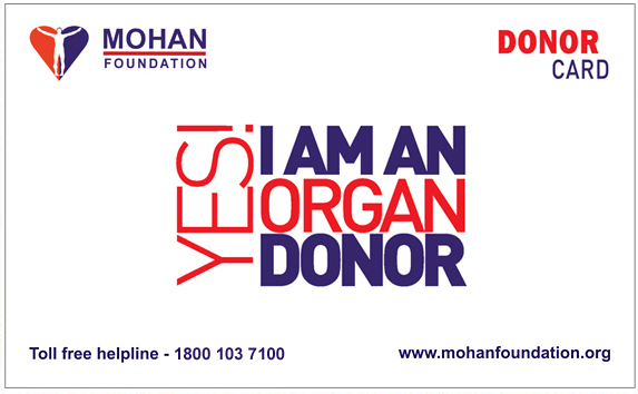 Donor Card - Pledge your Organs Online