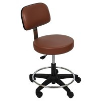 UMF Comfort Stool with Foot Ring and Backrest