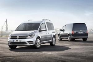 Volkswagen Caddy Samochodem Dostawczym 2015 roku w Polsce