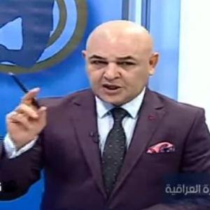 """بالفيديو: مذيع عراقي يهاجم المنتخب السعودي ويقول """"سنكسر خشومكم"""""""