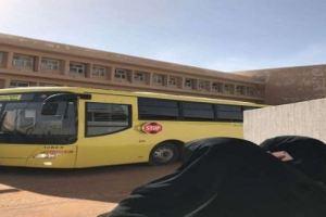 بالصور.. اندلاع حريق في مبنى التعليم بشقراء والمدني يباشر