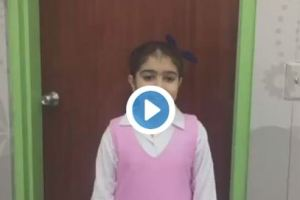 """بالفيديو.. الطفلة """"ريمان"""" التي قبَّلت رأس خادم الحرمين بحفل أرامكو تصف مشاعرها في تلك اللحظة"""