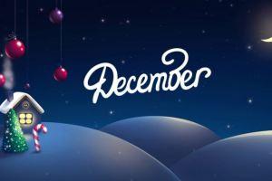 صور وعبارات شهر ديسمبر 2016 Hello December .. صفات مواليد ديسمبر