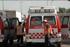 حادث انقلاب سيارة يصيب 5 معلمات ورجل بالعطيف