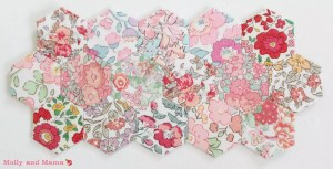 Patch of pretty hexies by Molly and Mama