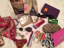kim hotzen purse contents