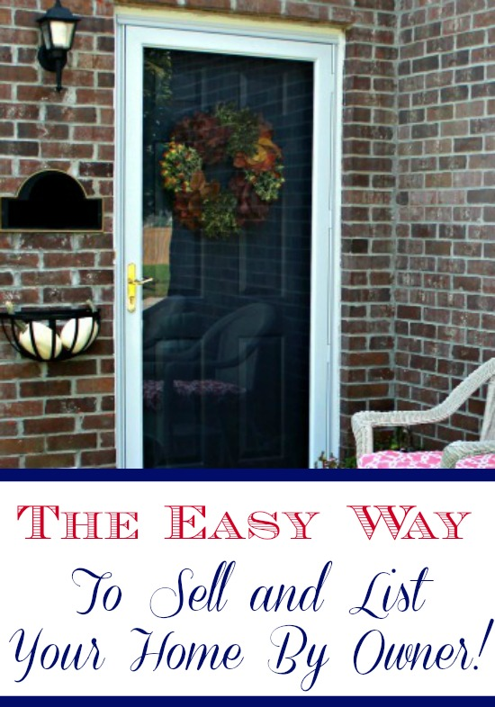 The Easy Way To Sell and List Your Home By Owner - Mom 4 Real