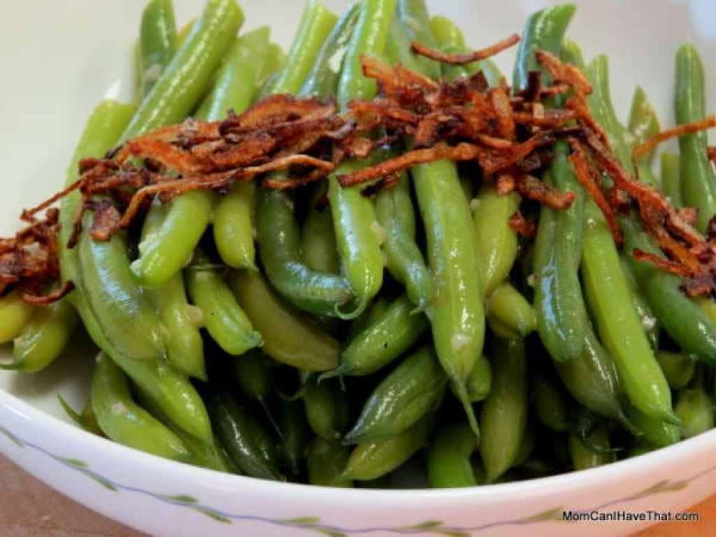 Green Bean Salad | Mom, Can I Have That?