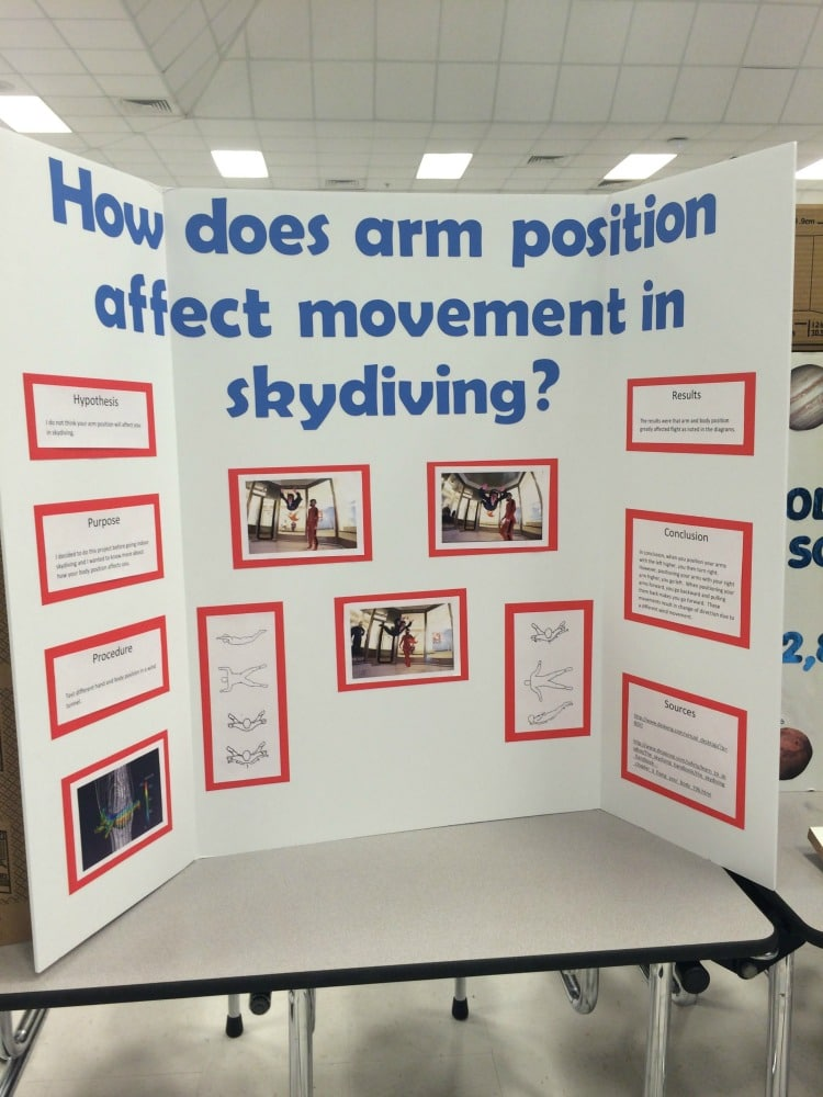 75+ Science Fair Project Ideas - - project poster board