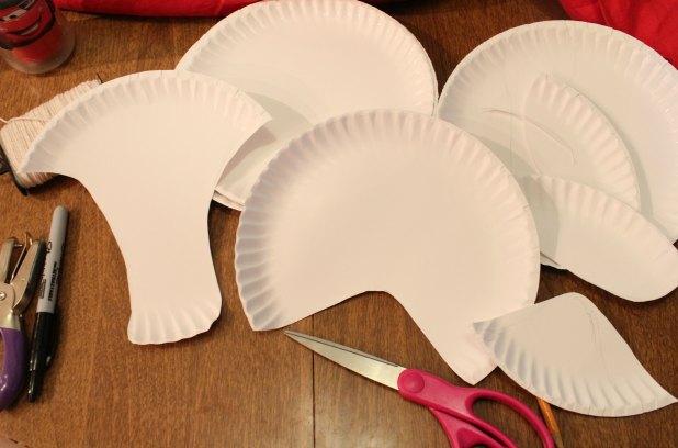 Paper ... & Halloween Crafts Paper Plates - Castrophotos