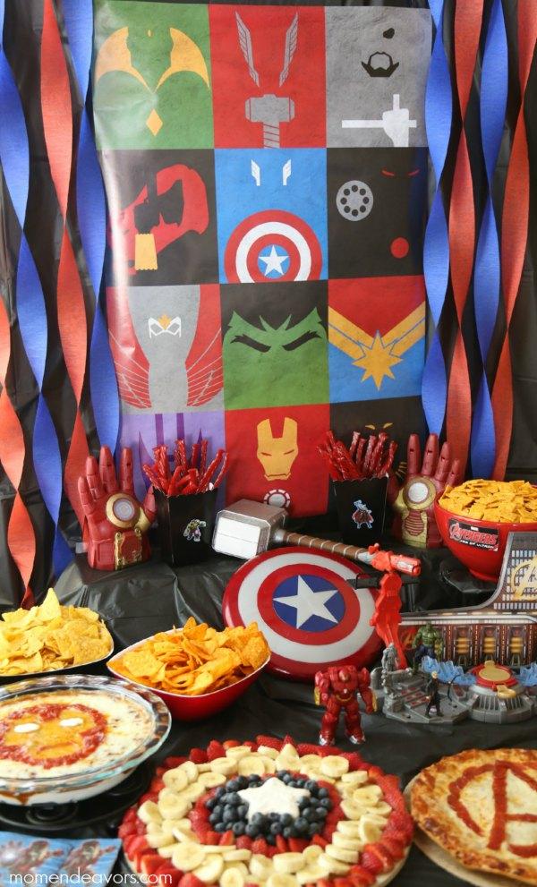 Avengers Party \u2013 Superhero Activities  Fun Food Ideas