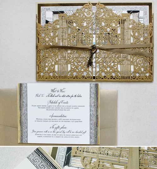 Medium Of Vow Renewal Invitations