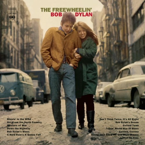 """The Freewheelin' Bob Dylan"" (1963), by Bob Dylan. Courtesy, Sony Music Entertainment"
